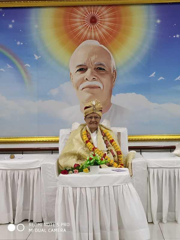 गुजरात के क्षेत्रीय संचालिका आदरणीय भारतीदीदीजी का गुजरात ज़ोन मुख्यालय सुखशांति भवन में आगमन