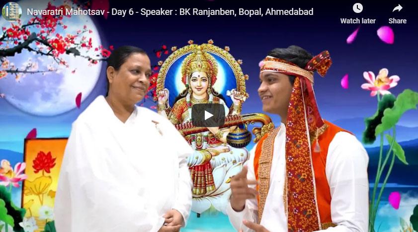 Maningar Ahmedabad : Navaratri Mahotsav - Day 6 - Speaker : BK Ranjanben, Bopal
